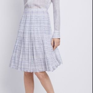 Vince Blurred Lines Pleated Skirt - 8